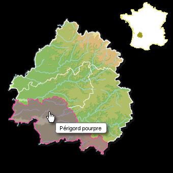 Périgord carte interactive