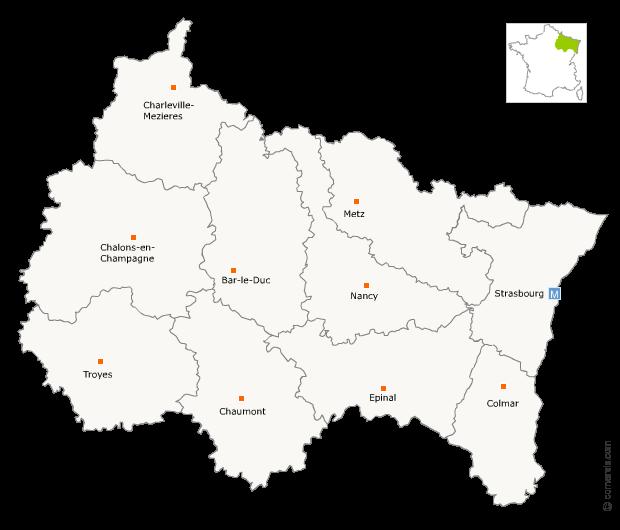 Fusion de la région Alsace avec la région Lorraine et Champagne-Ardenne