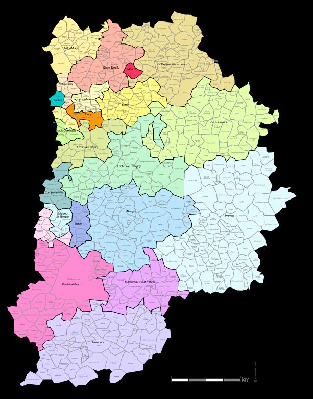 Villes Du Val De Marne Carte