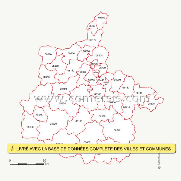 Codes Postales Des Villes De France