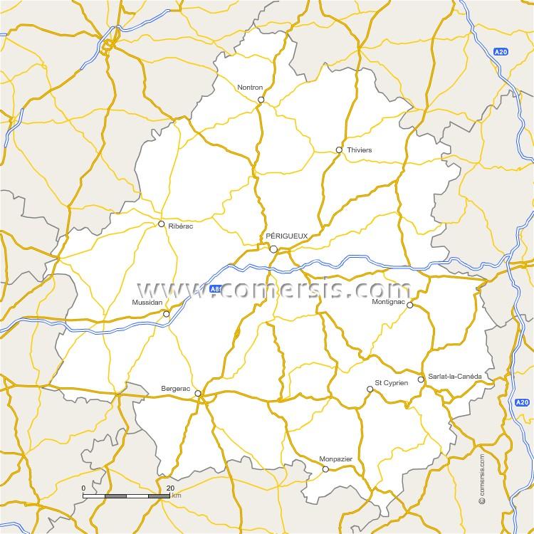 Routes de la Dordogne
