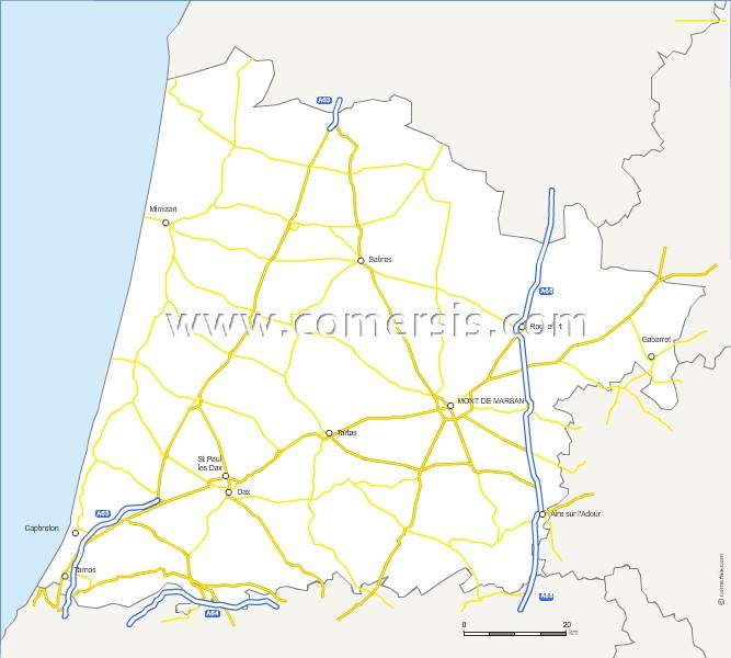 Routes des Landes
