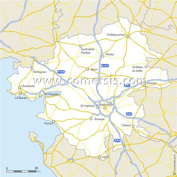 Routes de la Loire-Atlantique