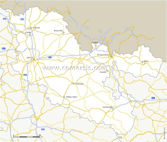 Routes de la Moselle
