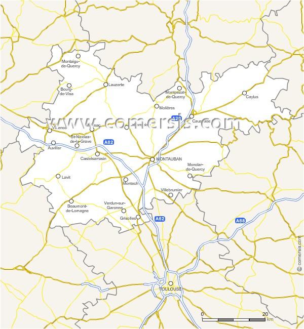 Routes du Tarn-et-Garonne