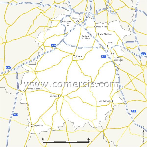 Routes de l'Essonne