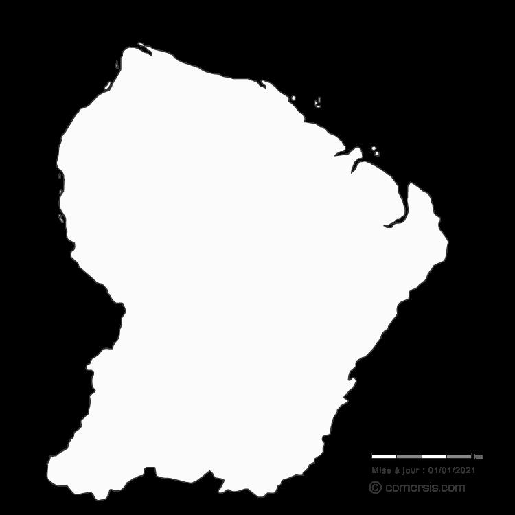 département de la Guyane 973