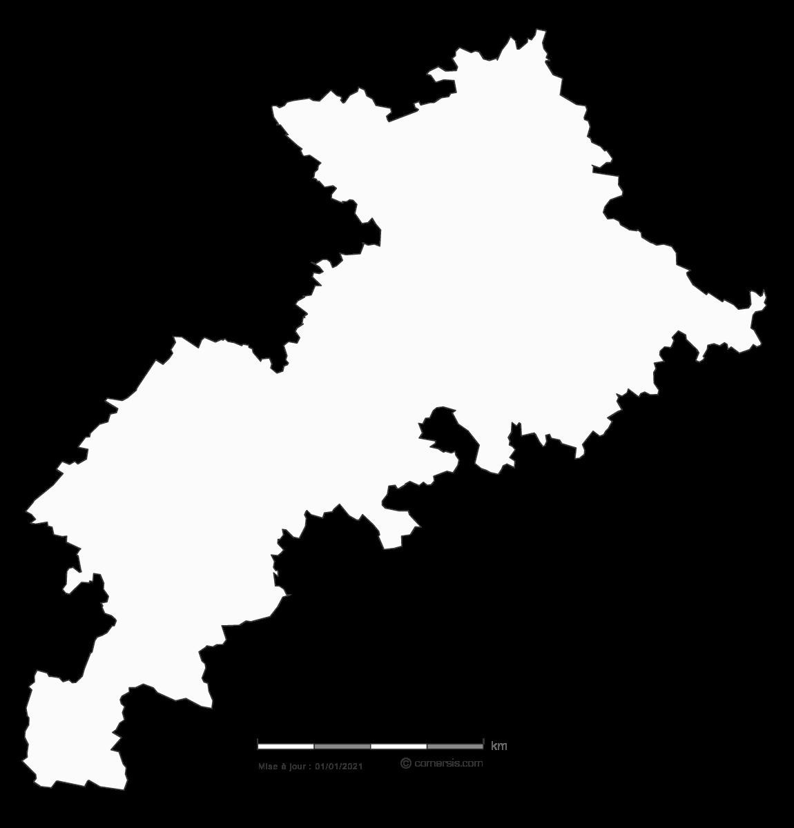carte gratuite de la Haute-Garonne 31