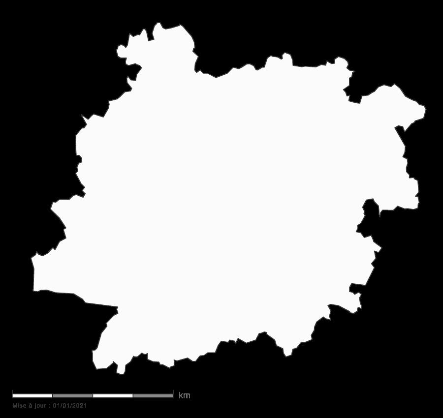 carte gratuite du Lot-et-Garonne 47