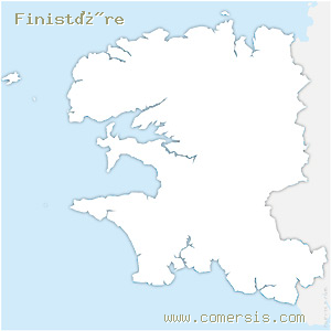 fond de carte d�partement du  Finist�re 29