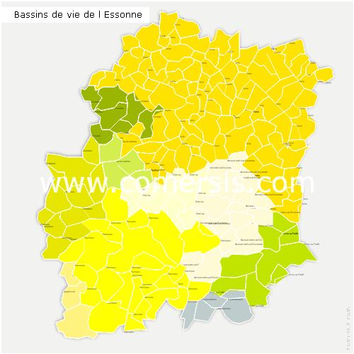 Bassins de Vie de l'Essonne