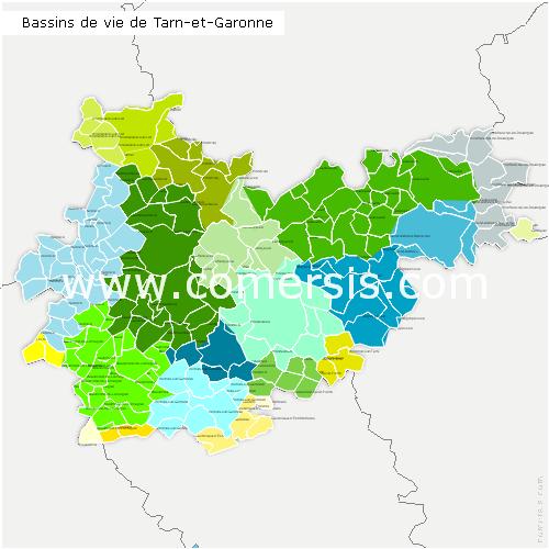 Bassins de Vie du Tarn-et-Garonne