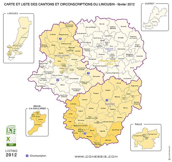 Liste Ville Limousin