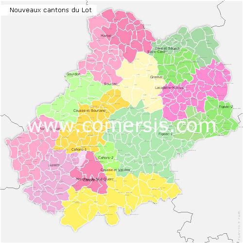 Télécharger € 24.90 des nouveaux cantons du  Lot 2014 pour Word et Excel.