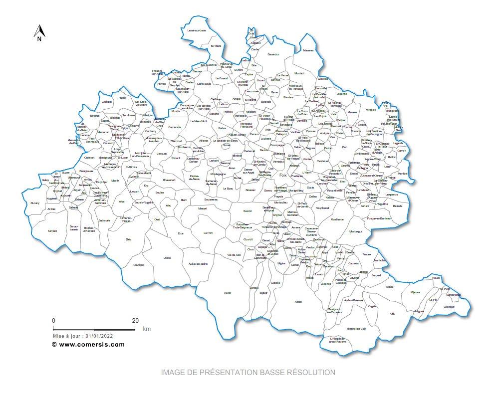 Télécharger € 29.90 communes de l' Ari�ge - 09