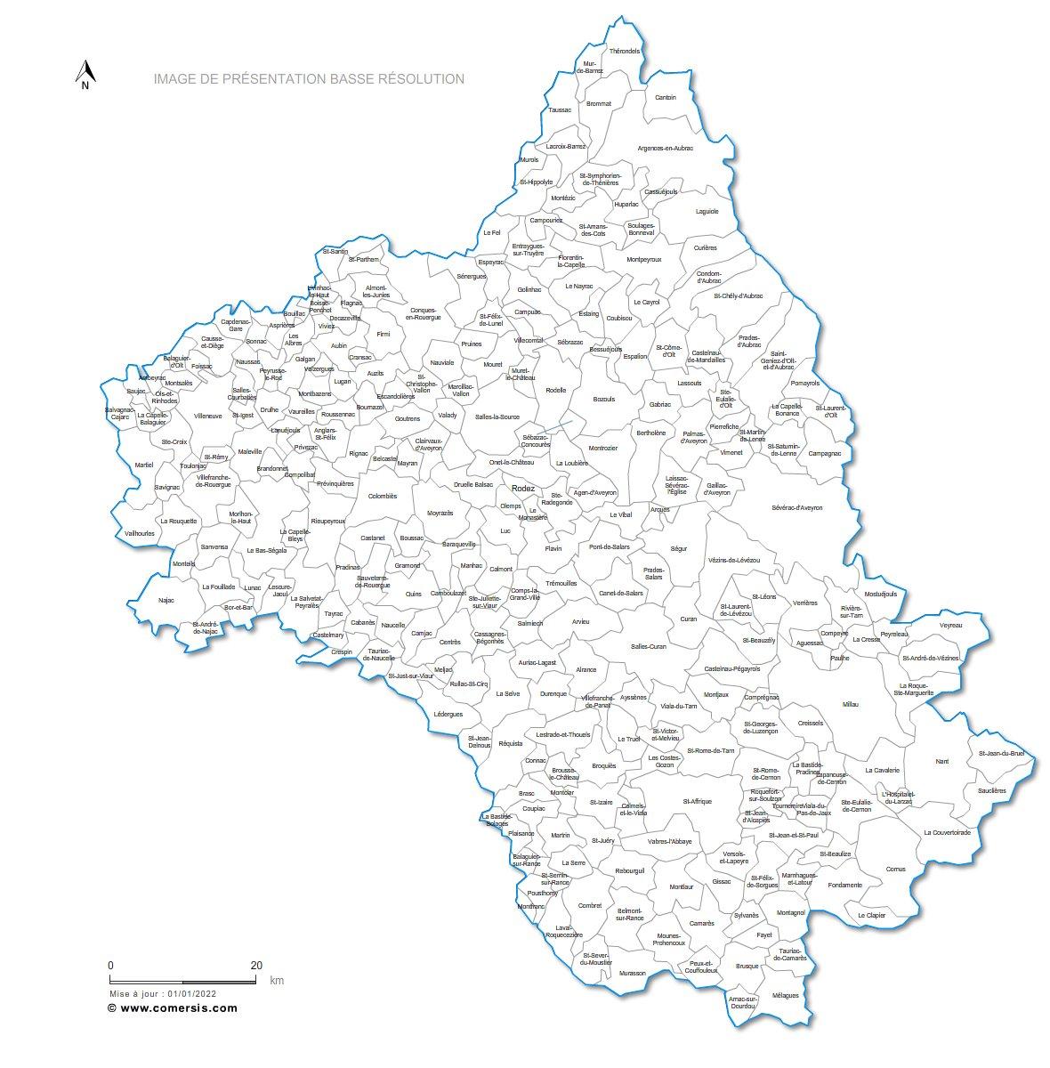 Télécharger € 29.90 communes de l' Aveyron - 12