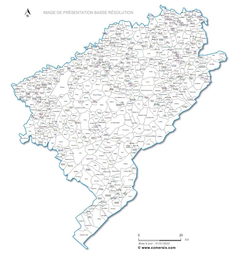 communes du Doubs - 25