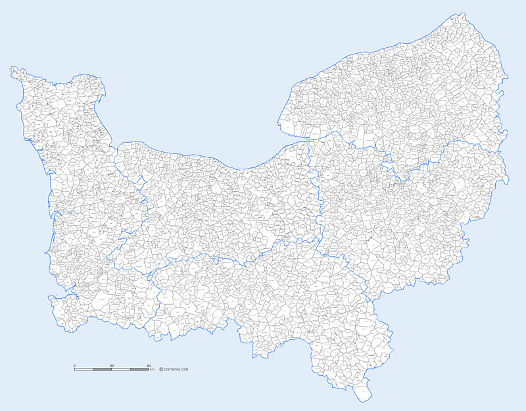 Villes Normandie Liste