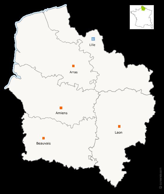 Fusion de la région Picardie avec la région Champagne-Ardenne