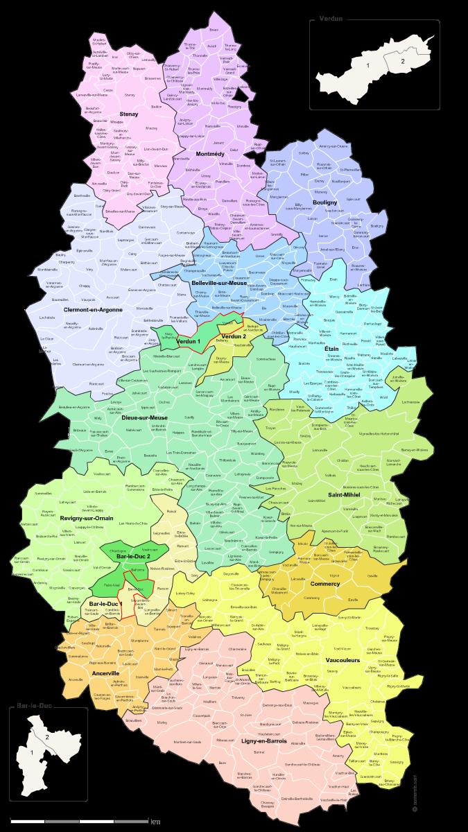 Meuse carte