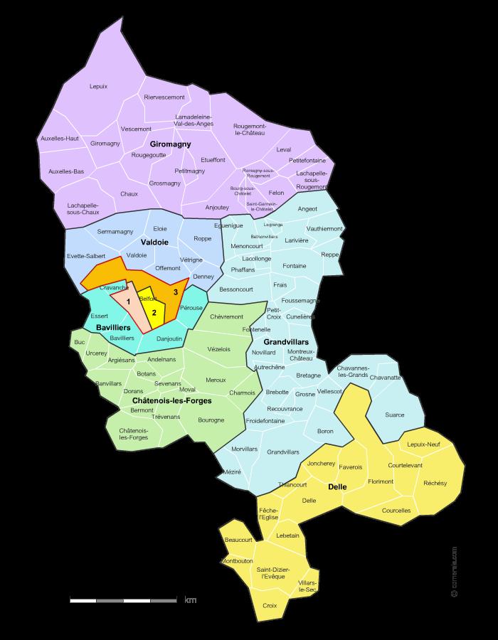 territoire de belfort departement 90