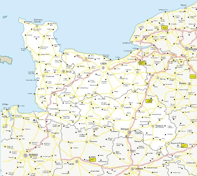 carte-de-basse-normandie