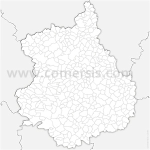 Carte SVG des communes d'Eure-et-Loir automatique