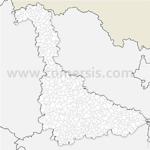 Carte SVG des communes de Meurthe-et-Moselle automatique