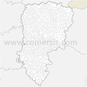 Carte SVG des communes de l'Aisne automatique