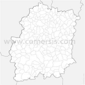 Carte SVG des communes de l'Essonne automatique