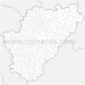 Carte SVG des communes de la Charente automatique