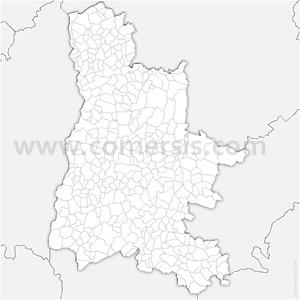 Carte SVG des communes de la Drôme automatique