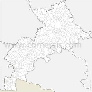 Carte SVG des communes de la Haute-Garonne automatique
