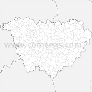 Carte SVG des communes de la Haute-Loire automatique