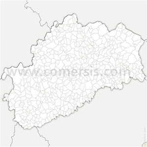 Carte SVG des communes de la Haute-Saône automatique