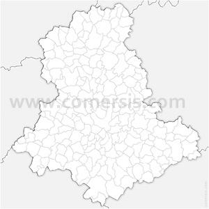 Carte SVG des communes de la Haute-Vienne automatique