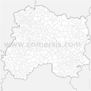 Carte SVG des communes de la Marne automatique