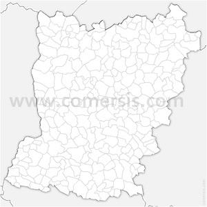 Carte SVG des communes de la Mayenne automatique