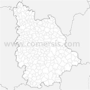 Carte SVG des communes de la Vienne automatique