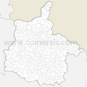 Carte SVG des communes des Ardennes automatique