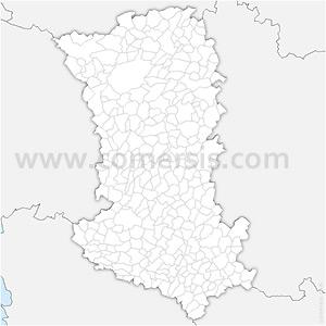 Carte SVG des communes des Deux-Sèvres automatique