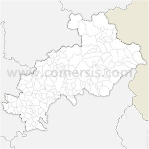 Carte SVG des communes des Hautes-Alpes automatique