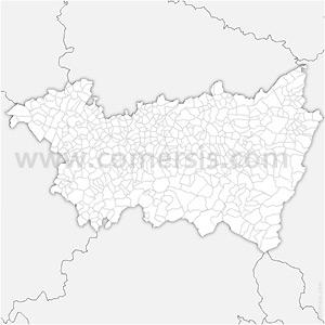 Carte SVG des communes des Vosges automatique
