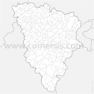 Carte SVG des communes des Yvelines automatique