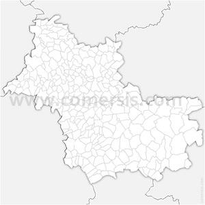 Carte SVG des communes du Loir-et-Cher automatique