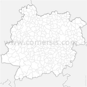 Carte SVG des communes du Lot-et-Garonne automatique