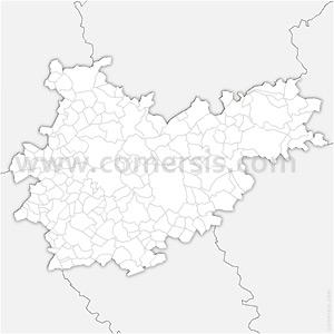 Carte SVG des communes du Tarn-et-Garonne automatique