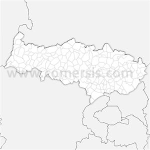 Carte SVG des communes du Val-d'Oise automatique