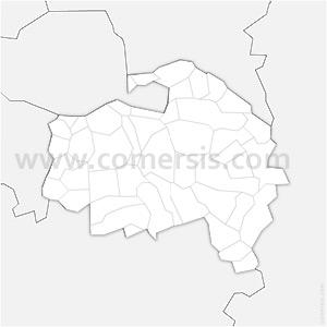 Carte SVG des communes du Val-de-Marne automatique