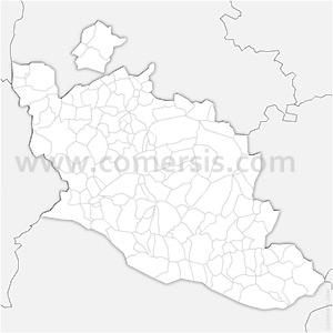 Carte SVG des communes du Vaucluse automatique